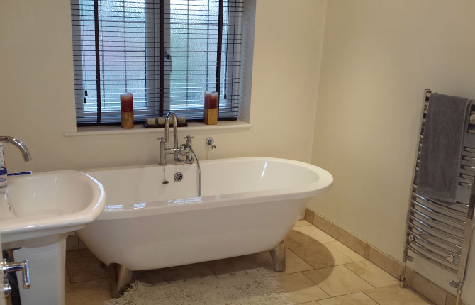 Full plumbing, tiling and bathroom fitting service.